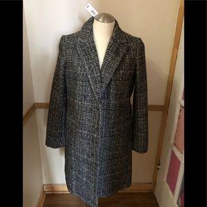 NWT Tweed Coat